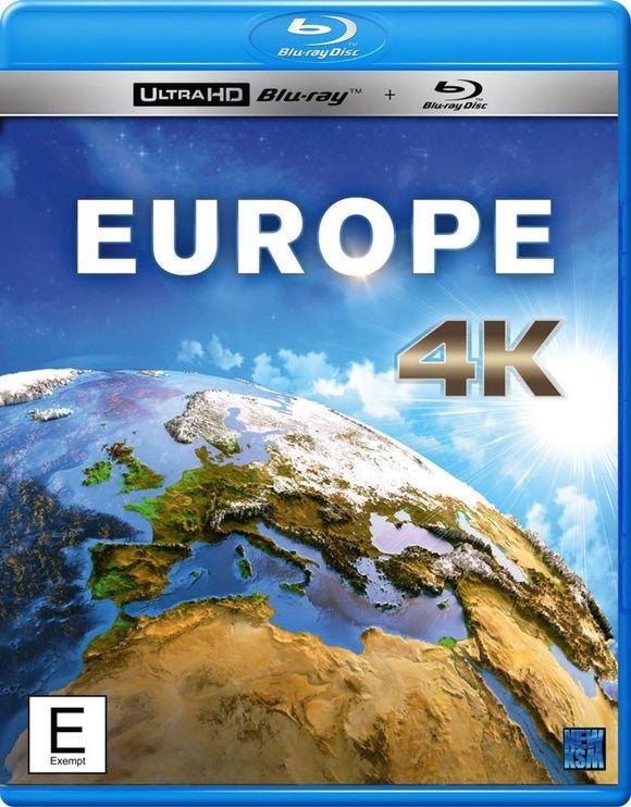 Europe 4K 2015 Ultra HD 2160p