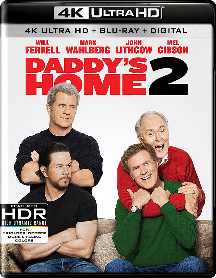Daddy's Home 2 4K 2017 Ultra HD 2160p