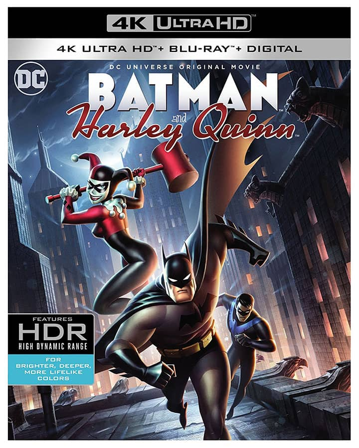 Batman and Harley Quinn 4K 2017 Ultra HD 2160p