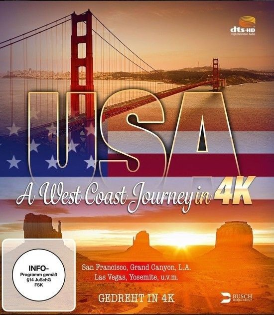 USA A West Coast Journey 4K 2014 DOCU Ultra HD 2160p