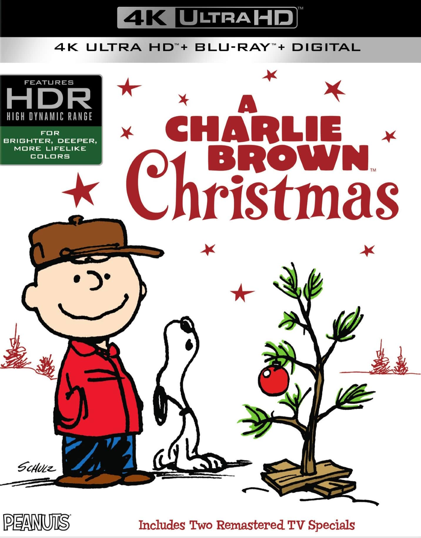 A Charlie Brown Christmas 4K 1965 Ultra HD 2160p
