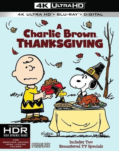 A Charlie Brown Thanksgiving 4K 1973 Ultra HD 2160p