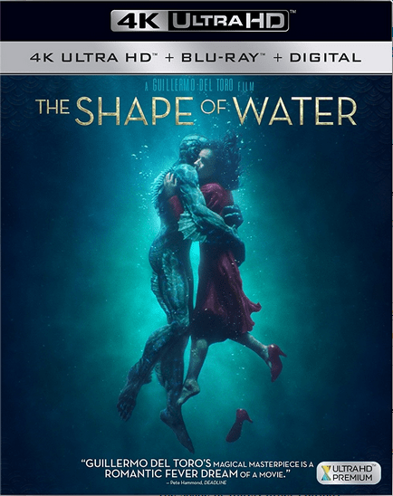 The Shape of Water 4K 2017