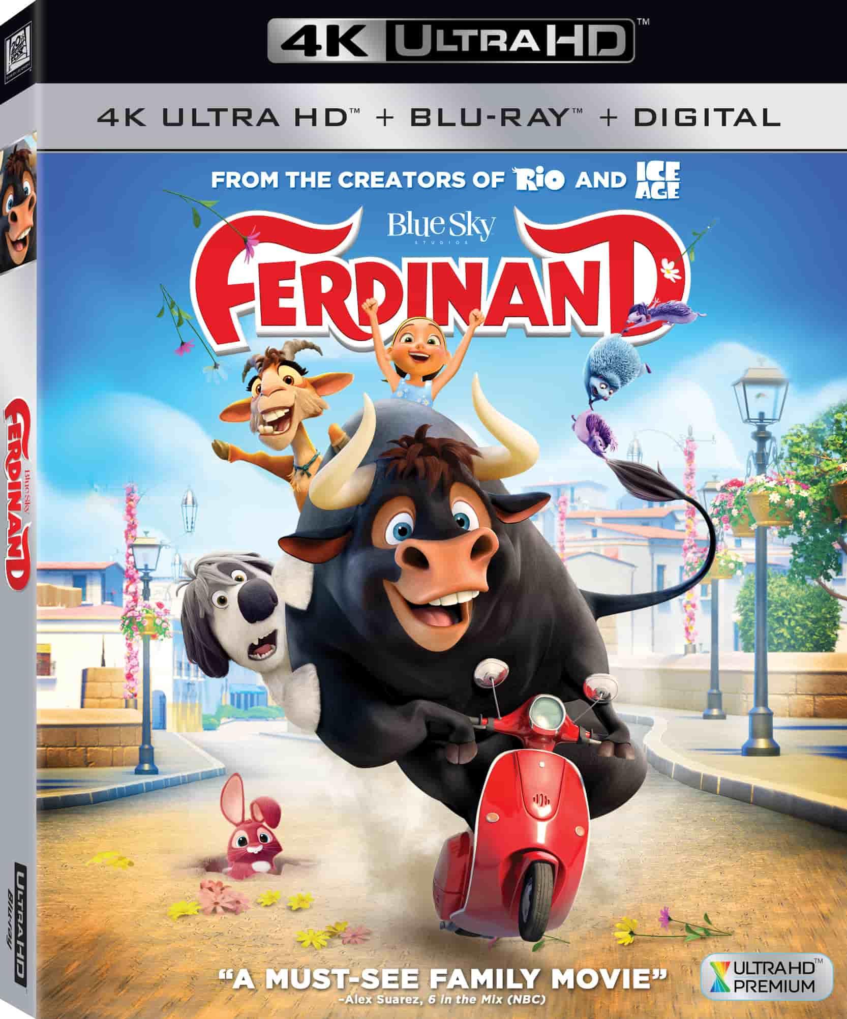 Ferdinand 4K 2016 Ultra HD 2160p