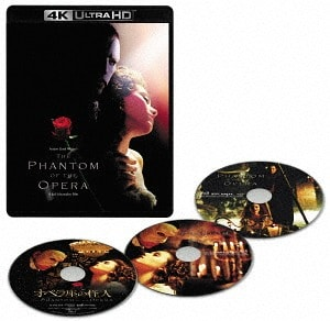 The Phantom of the Opera 4K 2004 Ultra HD 2160p