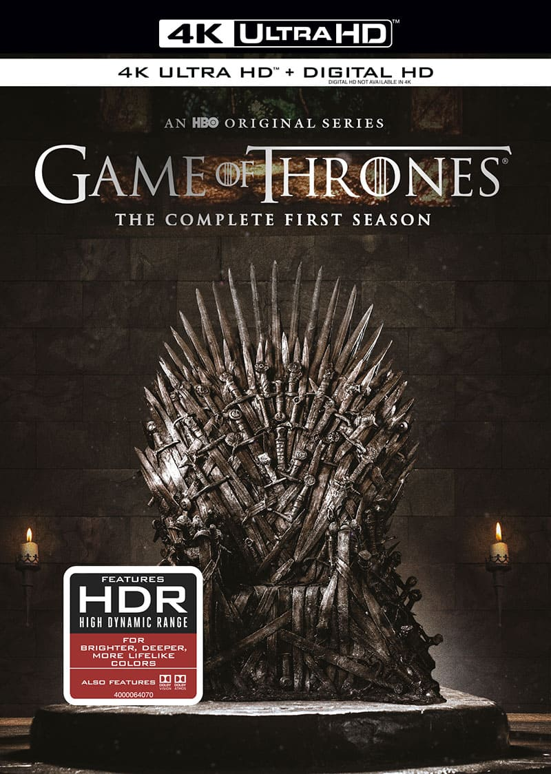 Game of Thrones Season 1 4K Ultra HD 2160p