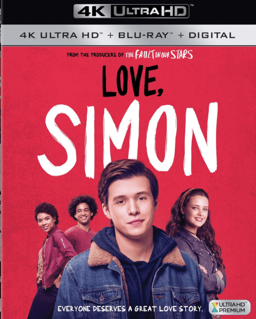 Love, Simon 4K 2018 Ultra HD 2160