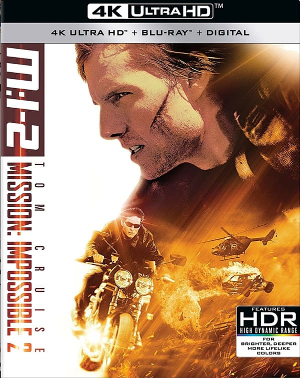 Mission Impossible II 4K 2000