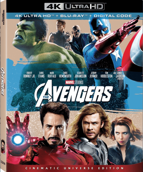 The Avengers 4K 2012 Ultra HD 2160p