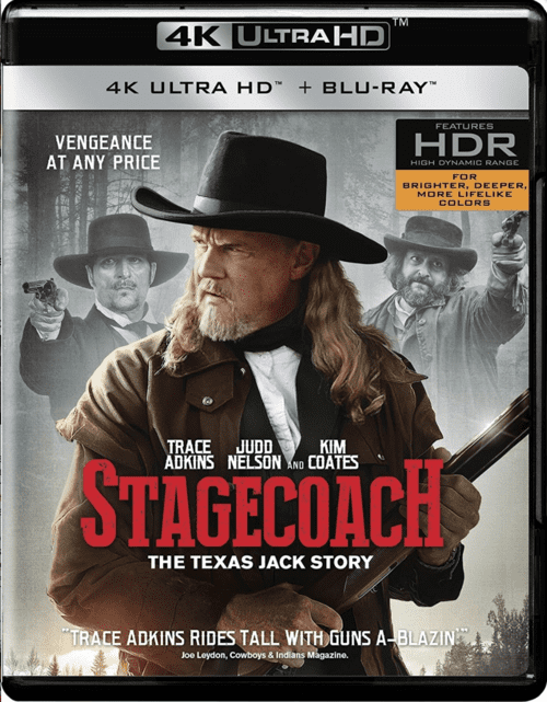 Stagecoach: The Texas Jack Story 4K 2016