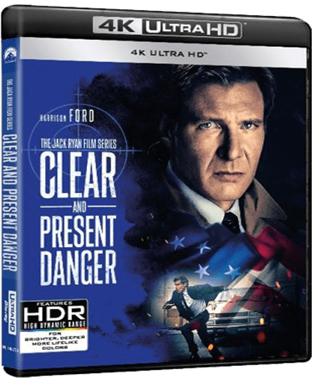 Clear And Present Danger 4K 1994