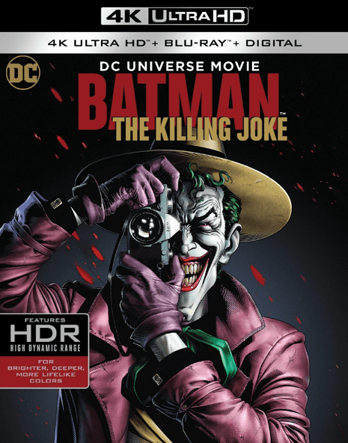 Batman: The Killing Joke 4K 2016