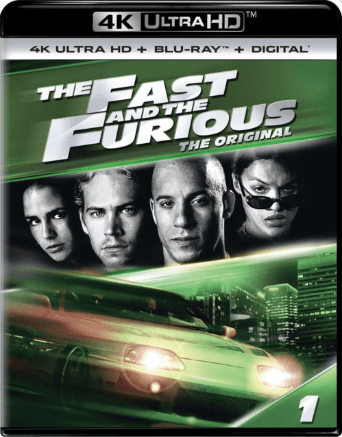 The Fast and the Furious 4K 2001