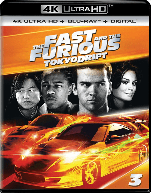 The Fast and the Furious: Tokyo Drift 4K 2006