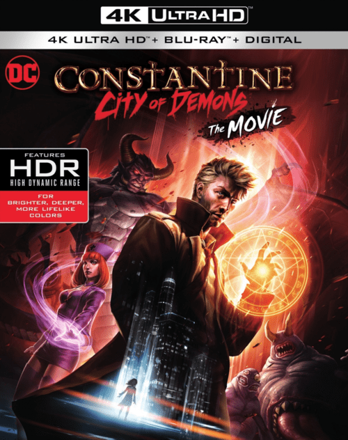 Constantine: City of Demons 4K 2018 Ultra HD 2160p