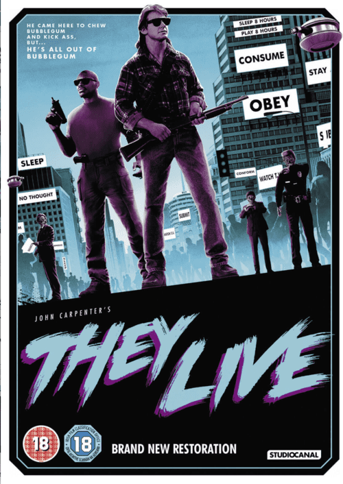 They Live 4K 1988 Ultra HD 2160p