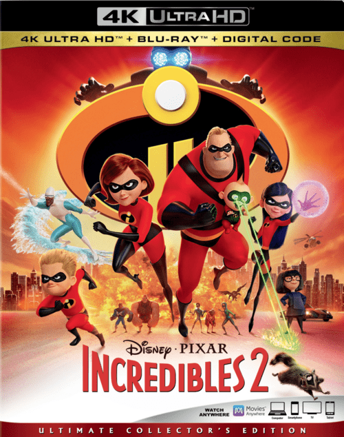 Incredibles 2 4K 2018