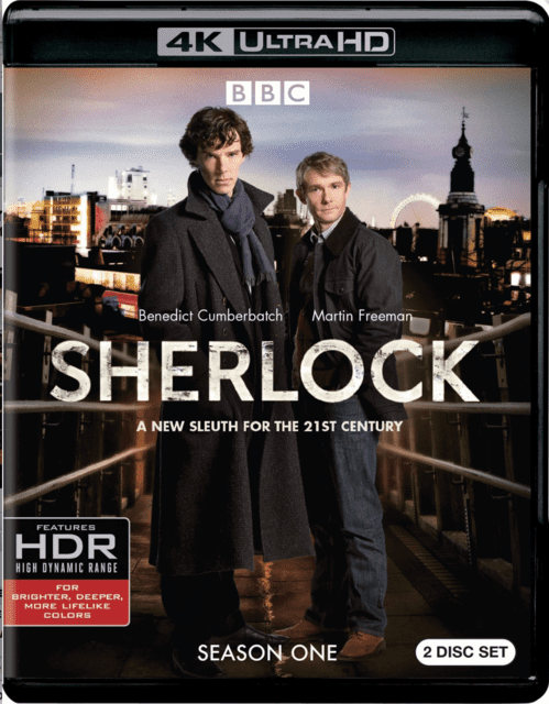 Sherlock: Season One 4K 2010 Ultra HD 2160p