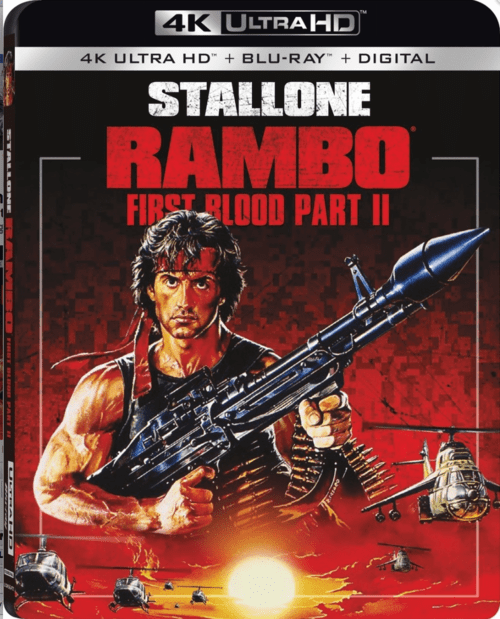 Rambo: First Blood Part II 4K 1985