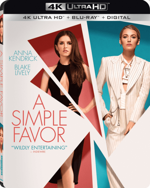 A Simple Favor 4K 2018 Ultra HD 2160p