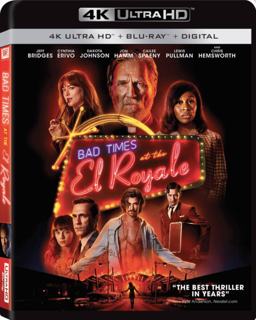 Bad Times at the El Royale 4K 2018