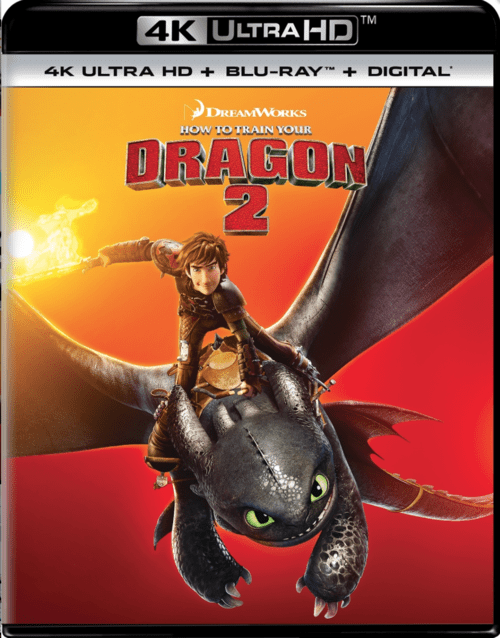 How to Train Your Dragon 2 4K 2014 Ultra HD 2160p