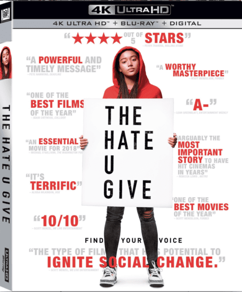The Hate U Give 4K 2018