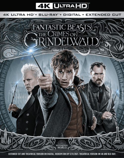 Fantastic Beasts The Crimes Of Grindelwald 4K 2018 Ultra HD 2160p