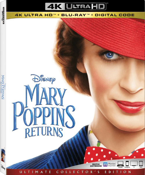 Mary Poppins Returns 4K 2018 Ultra HD 2160p