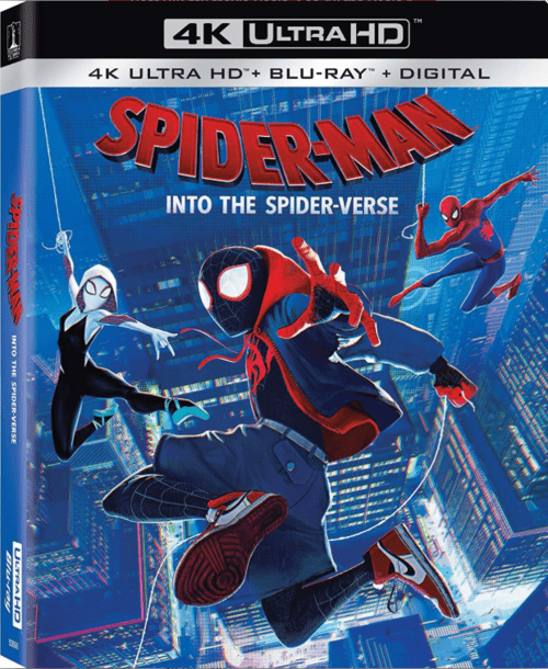 Spider-Man Into the Spider-Verse 4K 2018 Ultra HD 2160p