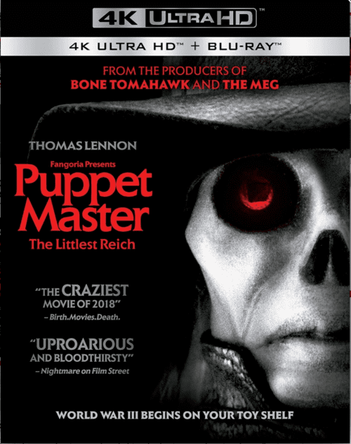 Puppet Master The Littlest Reich 4K 2018 Ultra HD 2160p