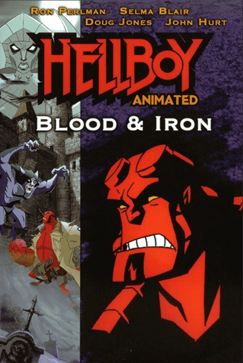 Hellboy Animated Blood and Iron 4K 2007