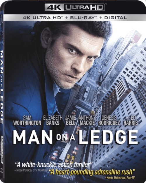 Man on a Ledge 4K 2012 Ultra HD 2160p