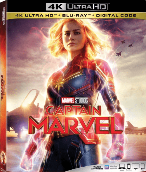Captain Marvel 4K 2019 Ultra HD 2160p