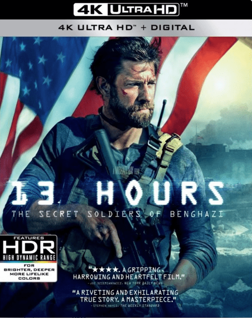 13 Hours The Secret Soldiers Of Benghazi 4K 2016 Ultra HD 2160p