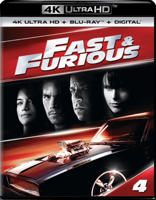 Fast And Furious 4K 2009