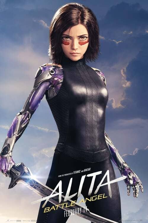 Alita Battle Angel 4K 2019 Ultra HD 2160p
