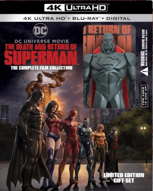 The Death and Return of Superman 4K 2019