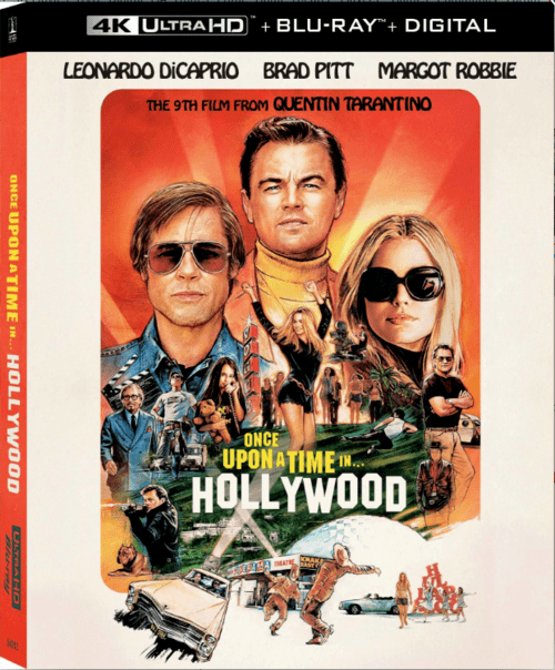 Once Upon a Time in Hollywood 4K 2019
