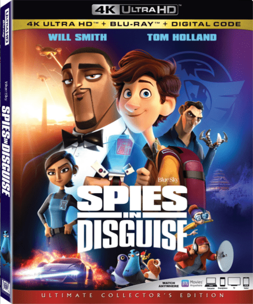 Spies in Disguise 4K 2019
