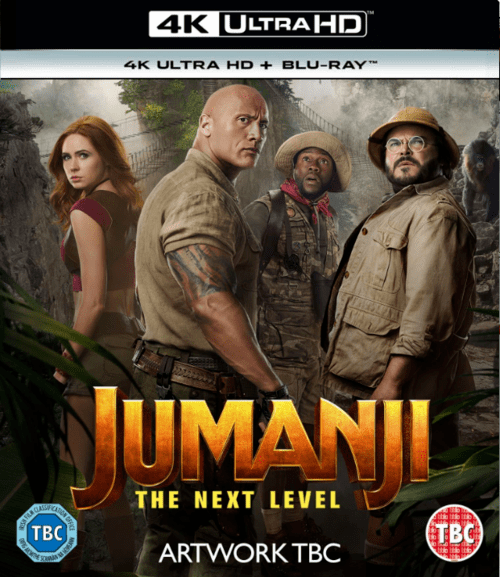 Jumanji The Next Level 4K 2019