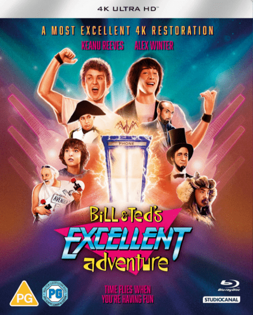 Bill and Teds Excellent Adventure 4K 1989