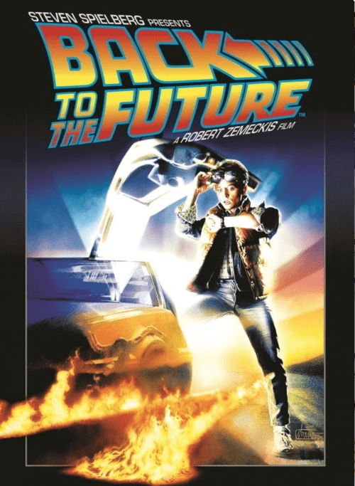 Back to the Future 4K 1985