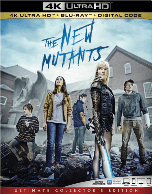 The New Mutants 4K 2020